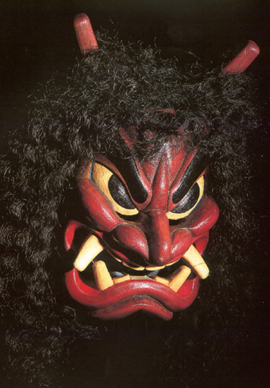 Japanese Demons and Kabuki Spooky « the story behind the faces