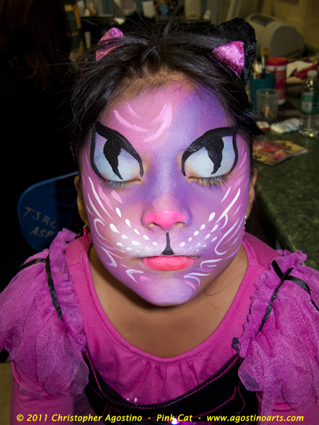 Halloween Cat Face Painting Photos http://thestorybehindthefaces.com/2011/11/01/halloween-face-painting-halloween-night-nyc-parks-and-recreation/