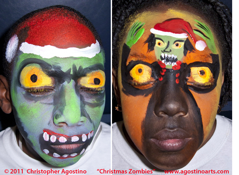 Some of the scary stuff: Christmas Zombies