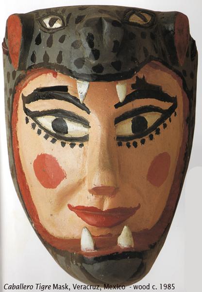 Jaguar Helmet Masks — from Aztec and Maya to Diego Rivera