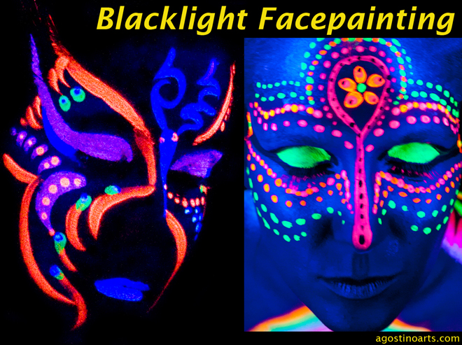 black light face paint ideas car tuning. Black Bedroom Furniture Sets. Home Design Ideas