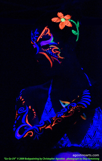 UV Makeup and Blacklight Special Effects « the story ...