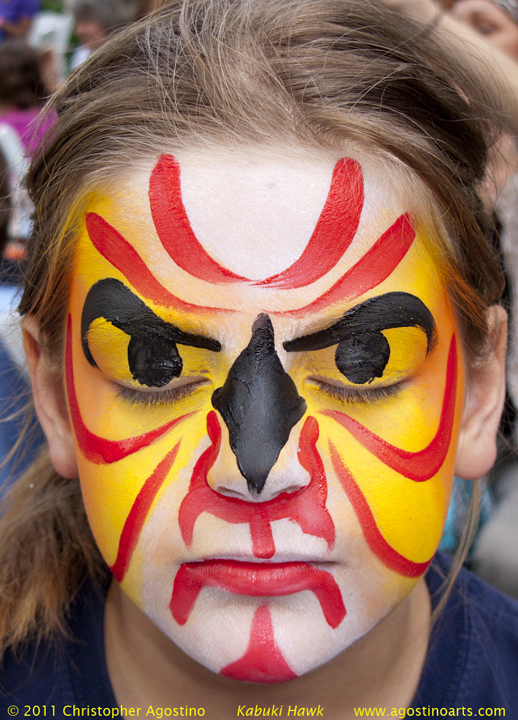 Face Painting Ideas for Fall http://thestorybehindthefaces.com/at-the-zoo/