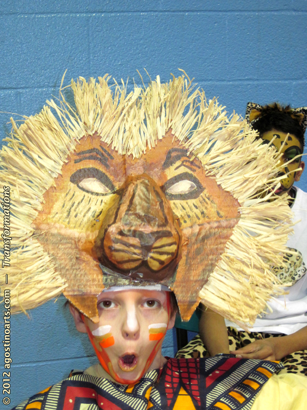 Lion_King_Face_Painting http://thestorybehindthefaces.com/tag/lion-king-face-paint/