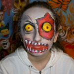 Zombie Bloody eye