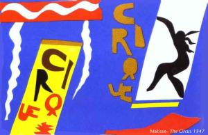 Matisse - The Circus, 1947